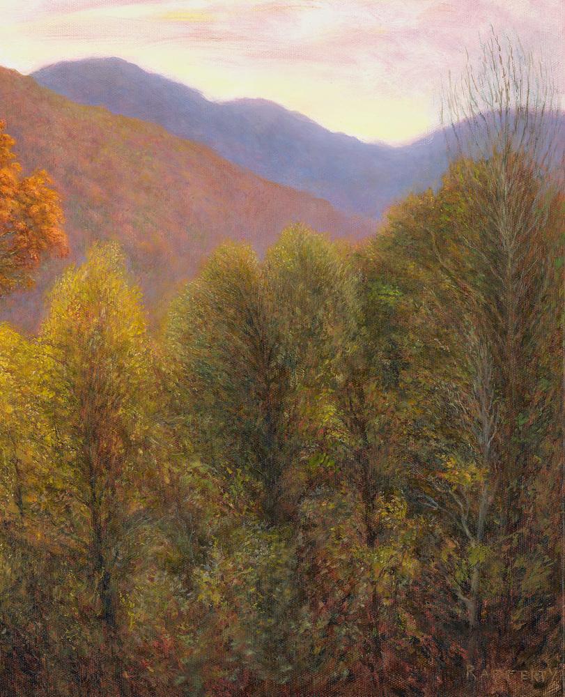 Jason Rafferty   Swannanoa Autumn Scene (detail 2)