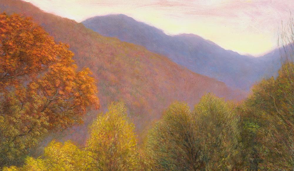 Jason Rafferty   Swannanoa Autumn Scene (detail 3)