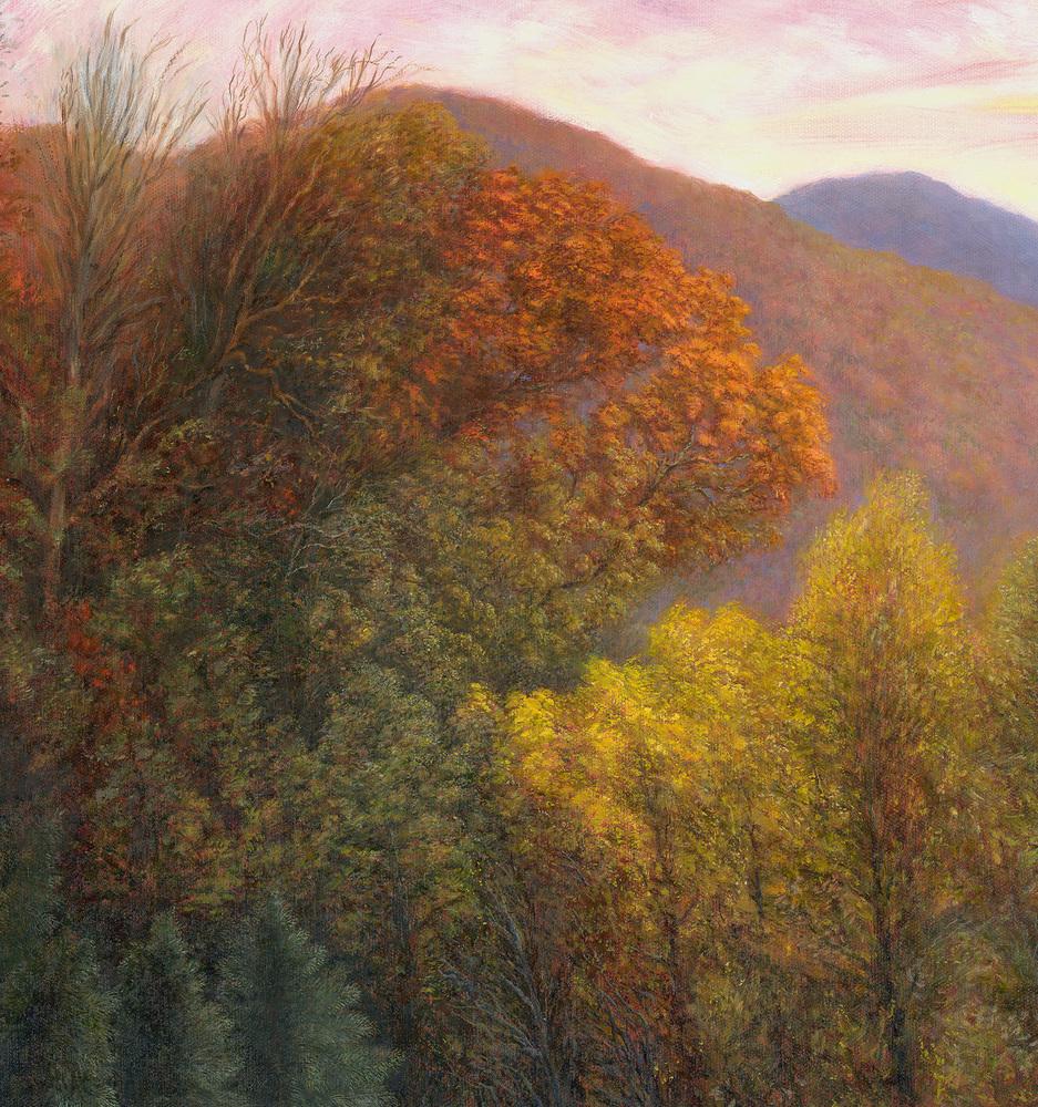 Jason Rafferty   Swannanoa Autumn Scene (detail 1)