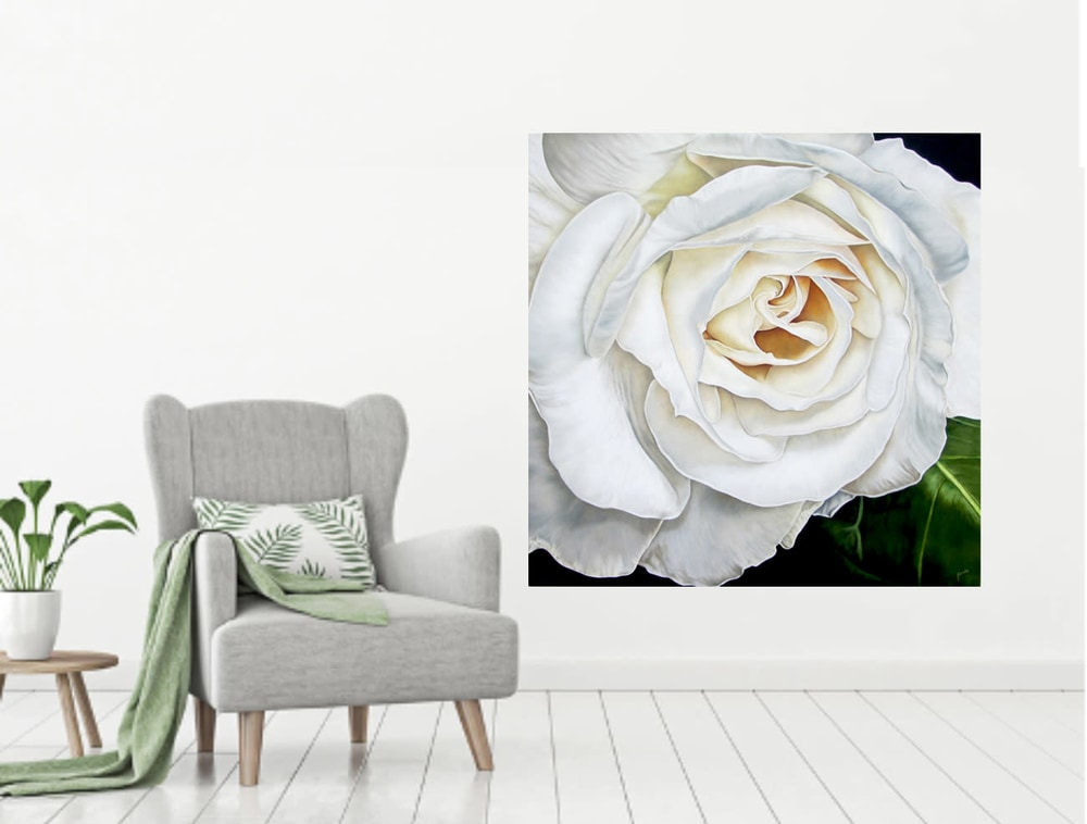 WhiteRose Beauty inroomwChair