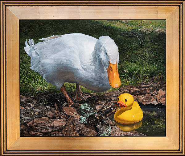 If It Looks Like a Duck Gold Frame
