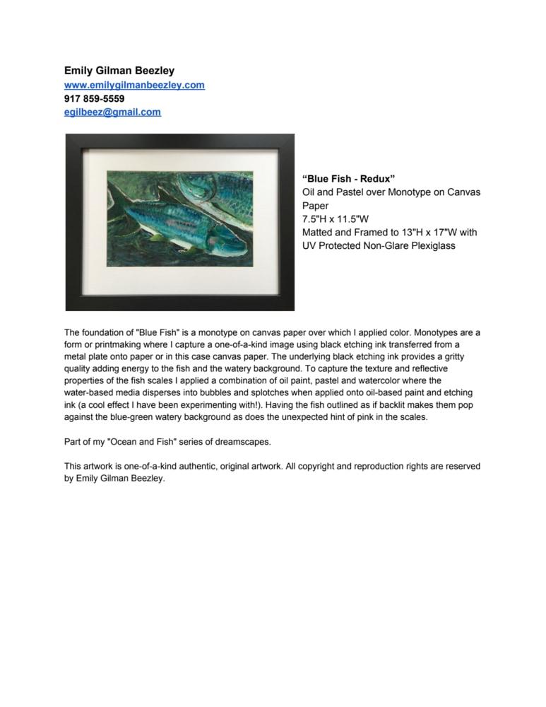Blue Fish   Redux