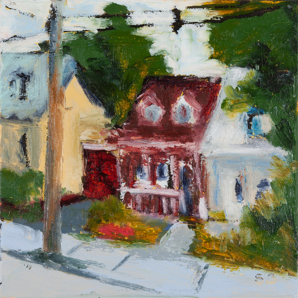 house with the red roof rue Saint Augustin original sandra boorne