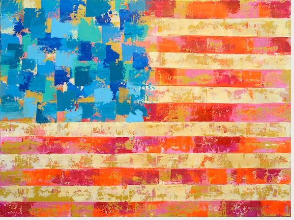 AMERICAN FLAG BRIGHT