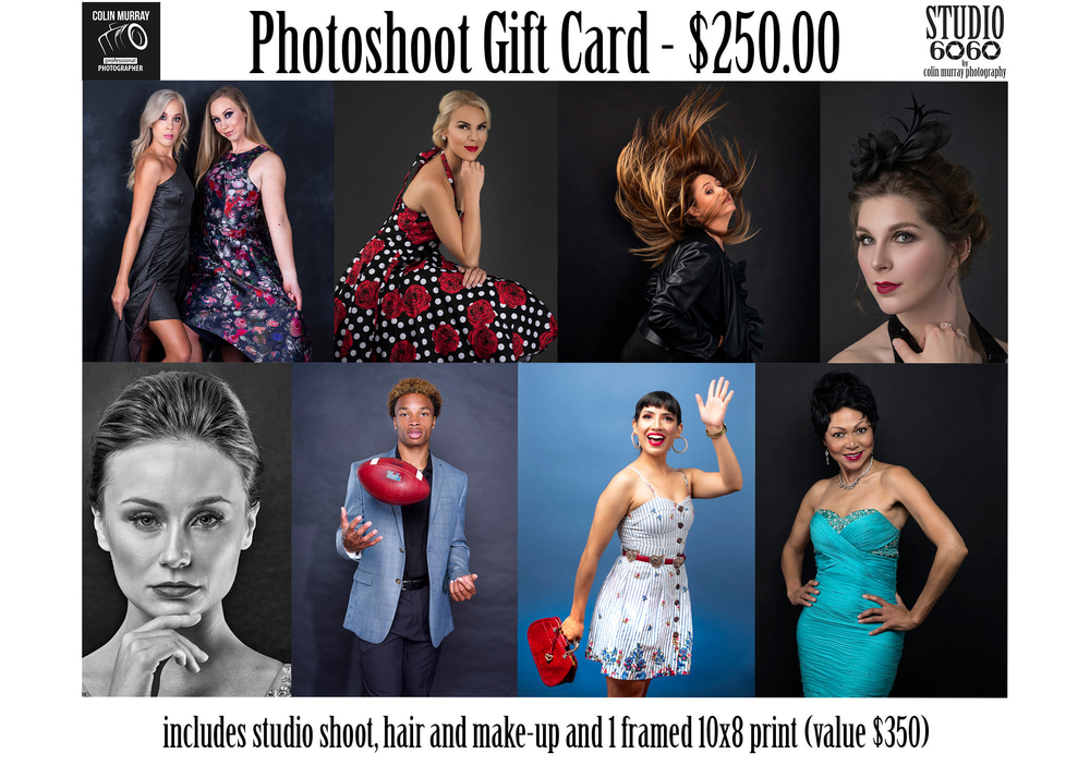 photoshoot gift card