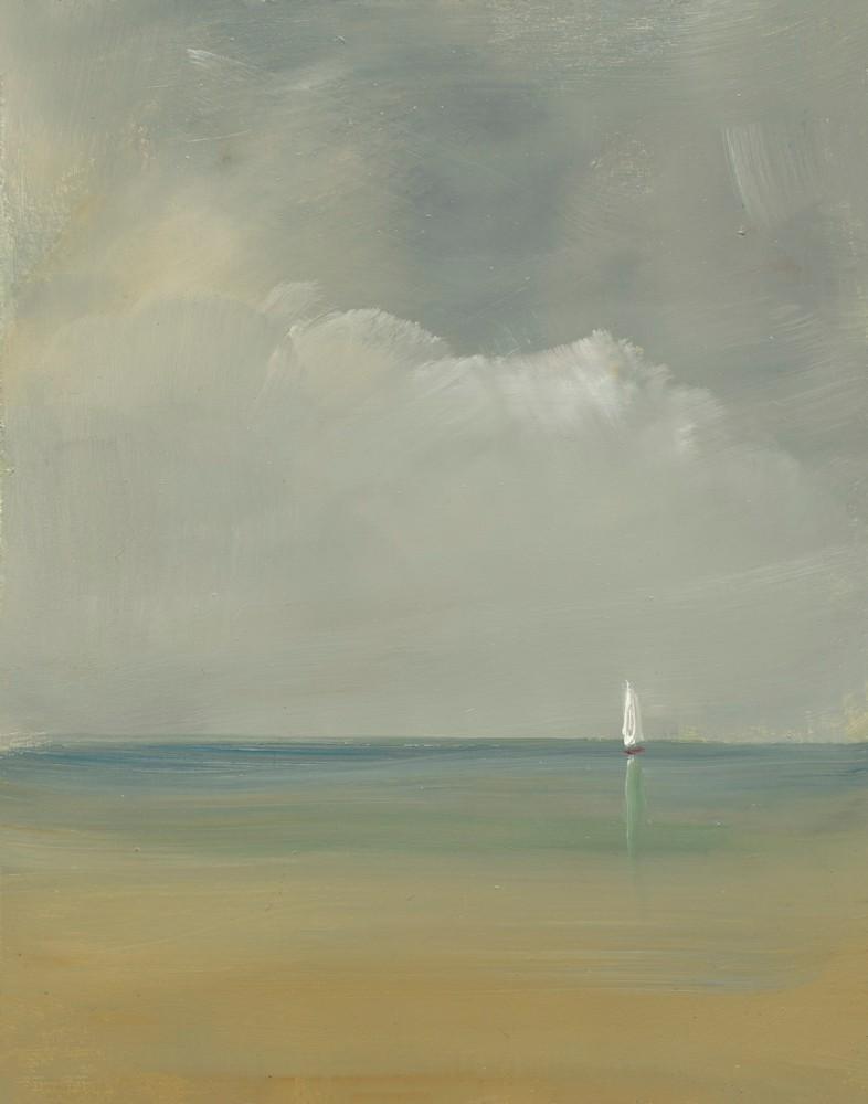 Midsummer Sail 14x11