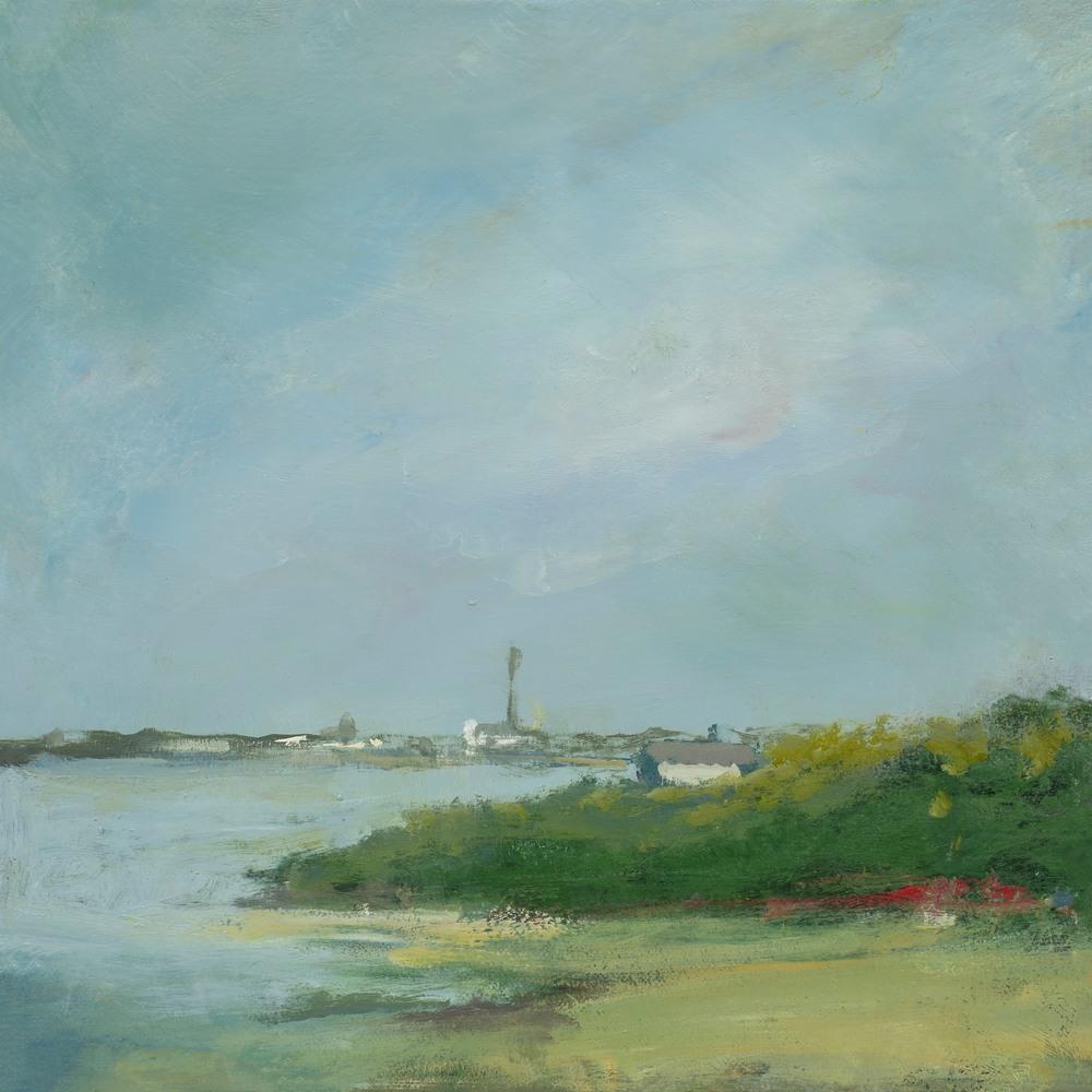 Provincetown Skyline 11x11