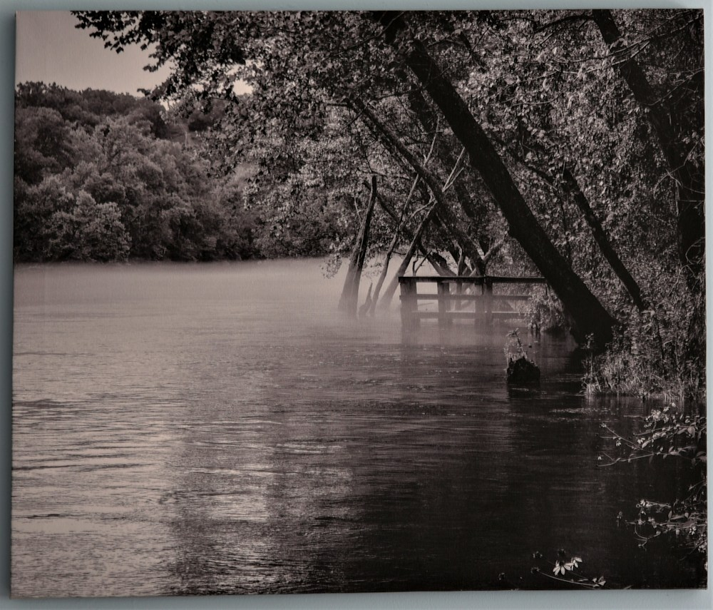 Moody Boat Ramp Canvas