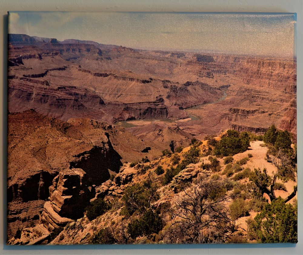 Grand Canyon South Rim Canvas