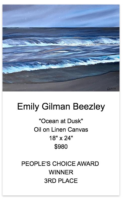 Ocean at Dusk   People's Choice Award