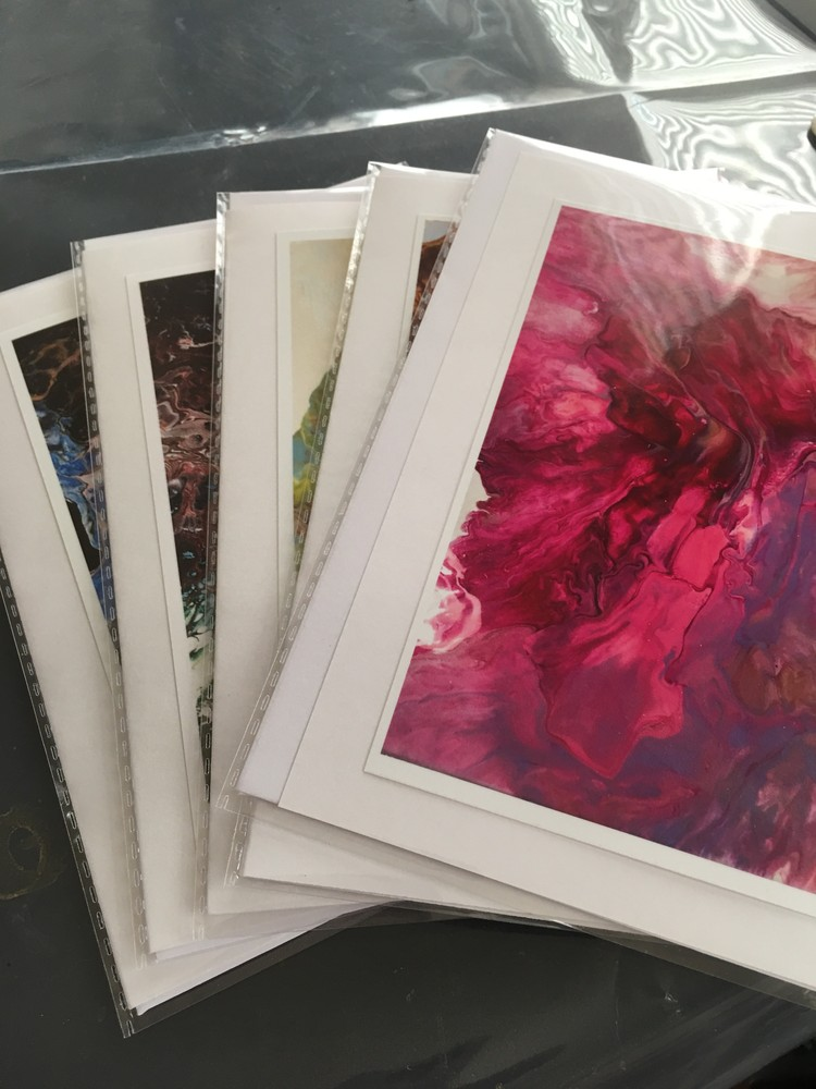 Acrylic Paint Pours Collection No.1