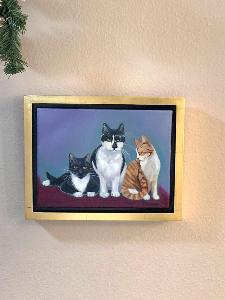 Kate's Kitties in situ