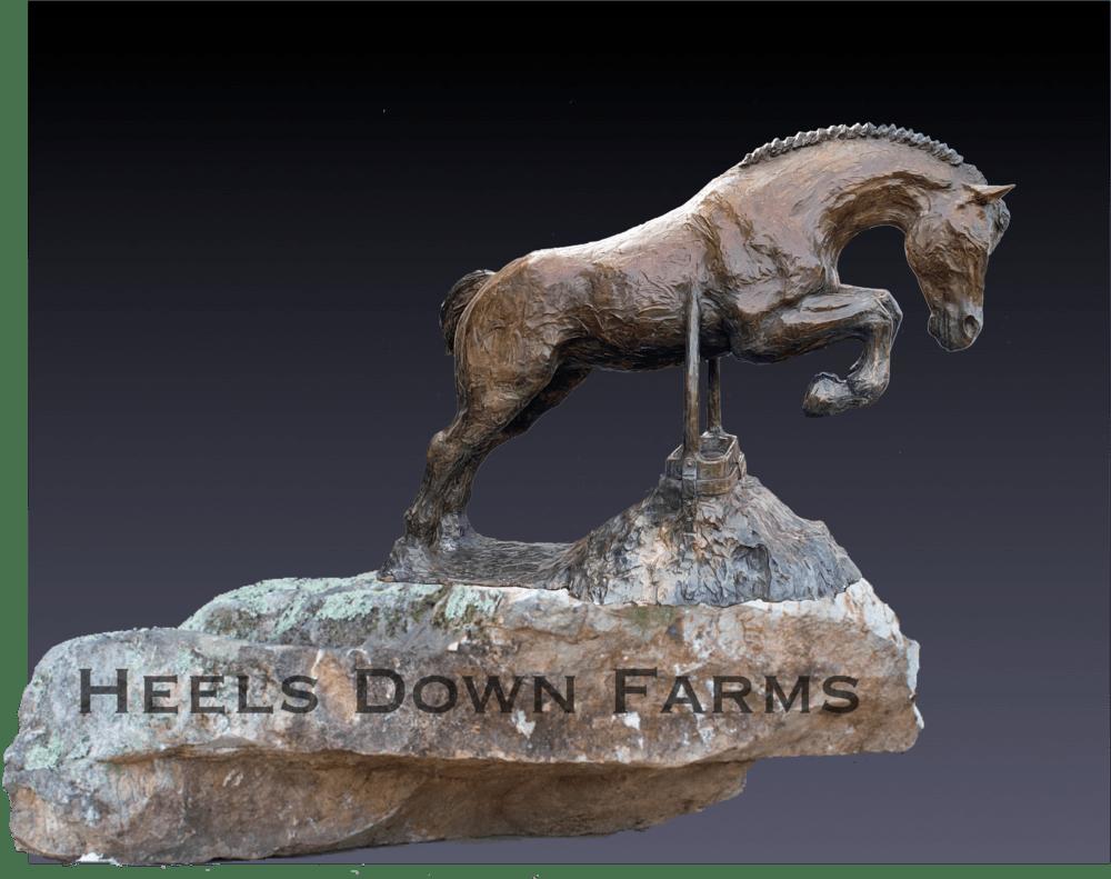 Heels Down Monument