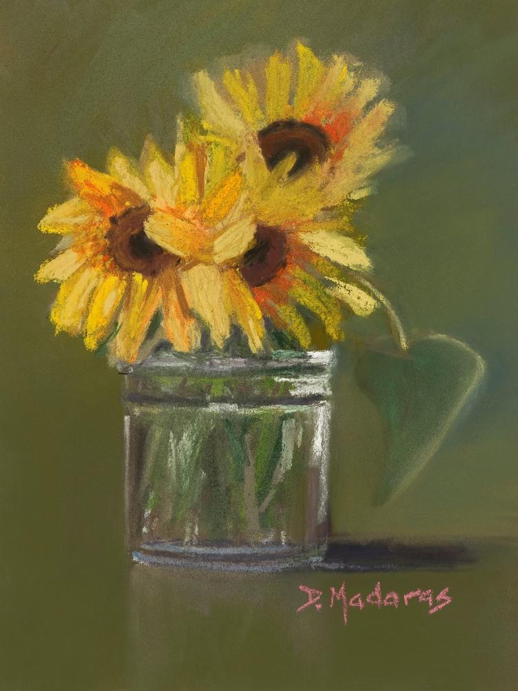 SAFEWAY Sunflowers (Redo) by Diana Madaras 12 x 9 xxfl