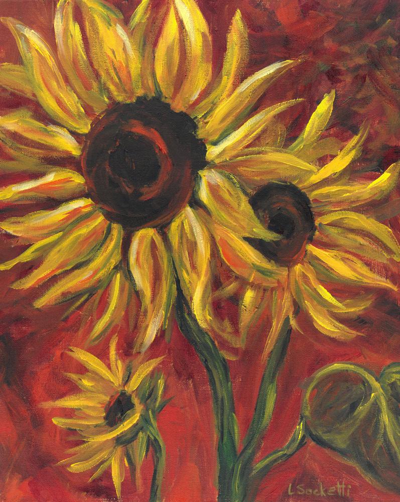 Sunflowers 1 16x20