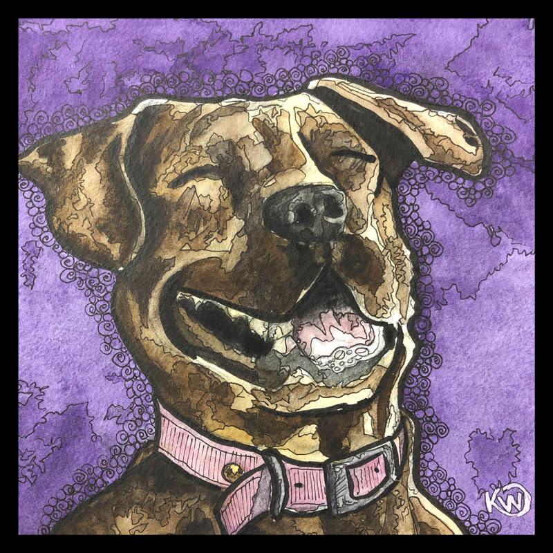 Laughing Doggo med