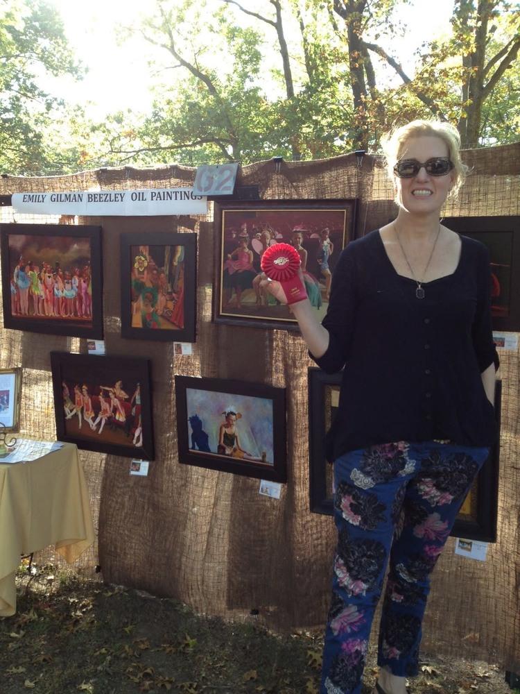 2013 Art in the Park award