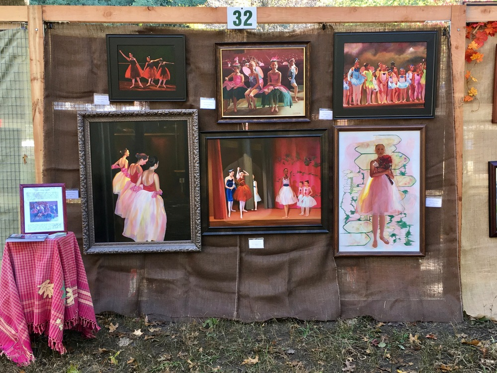 2016 Art in the Park display