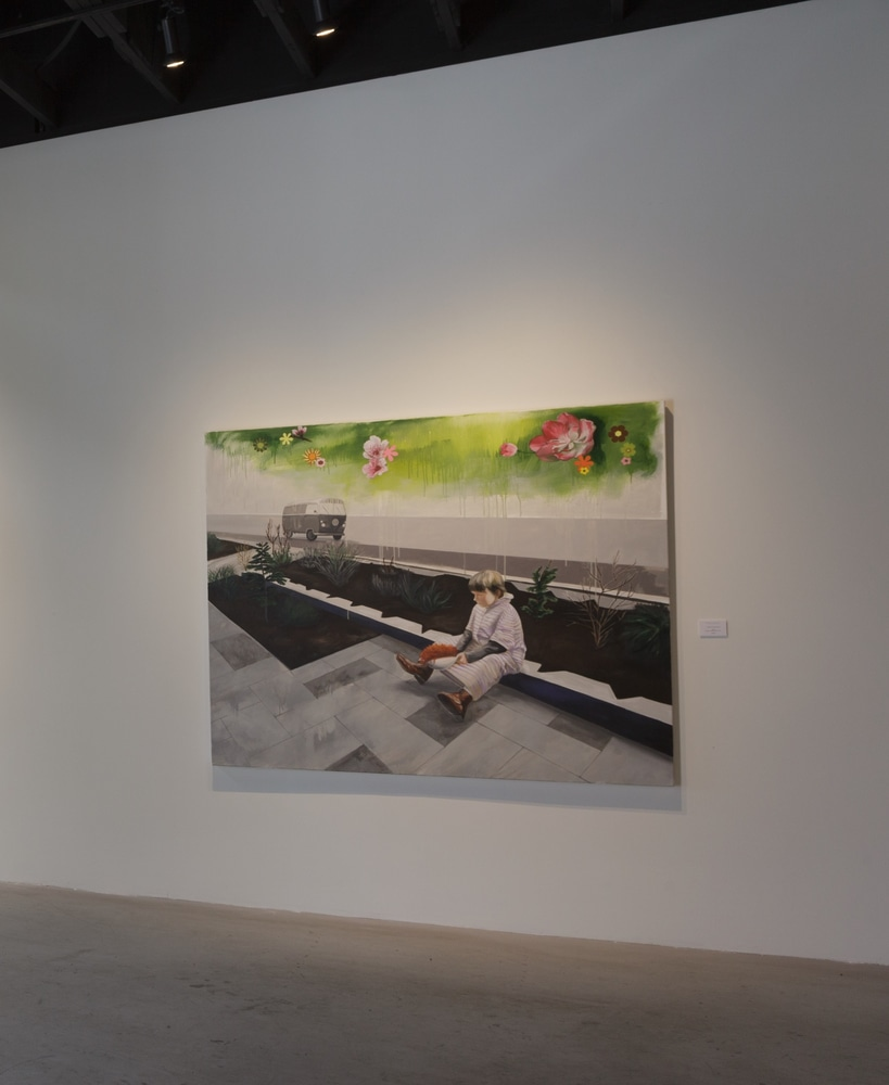 Exhibition view at Castelli Art Space, Los Angeles