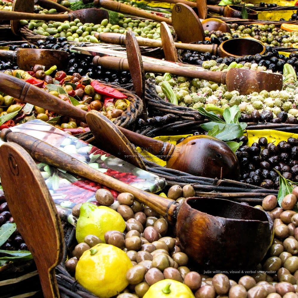 5x5 press cards olives