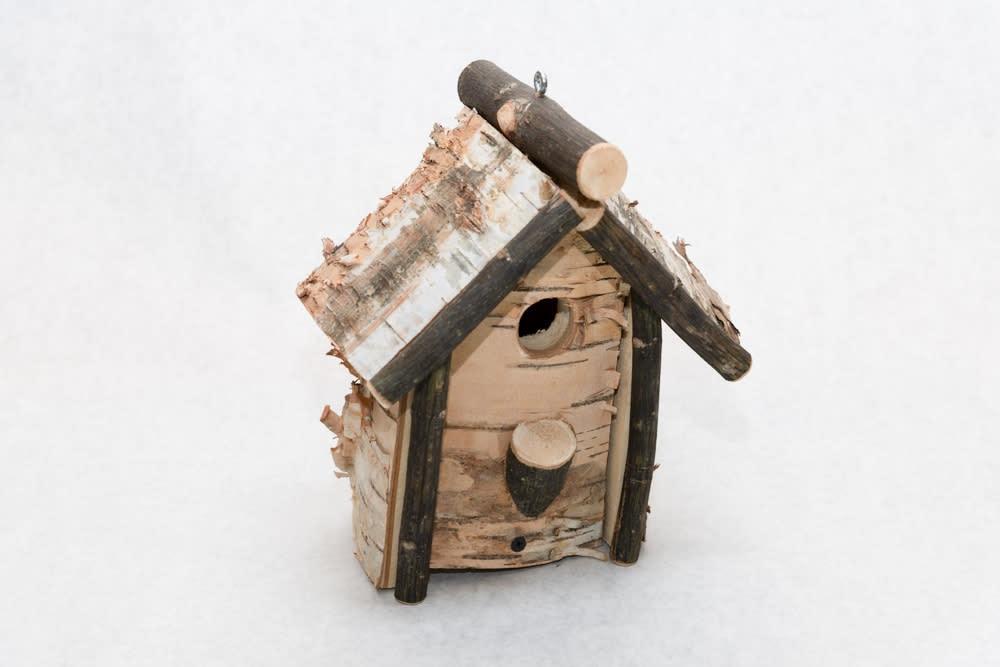 Birch Bird House   Square