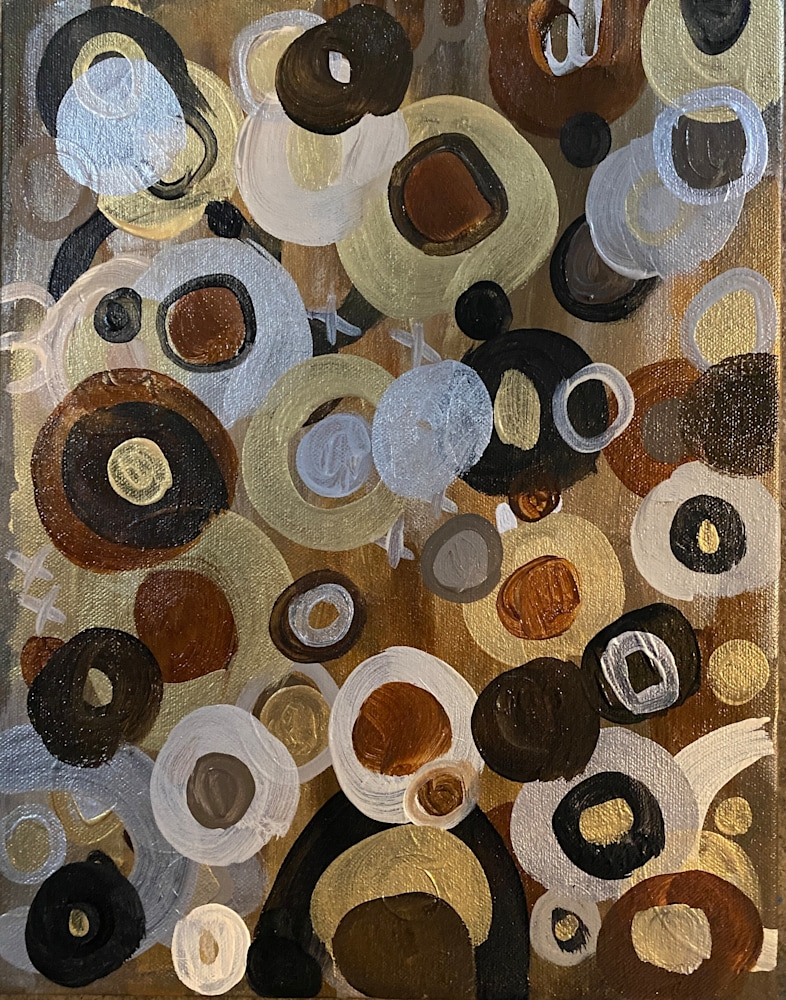 Brenden Spivey   Black is Gold   Abstraction Gallery