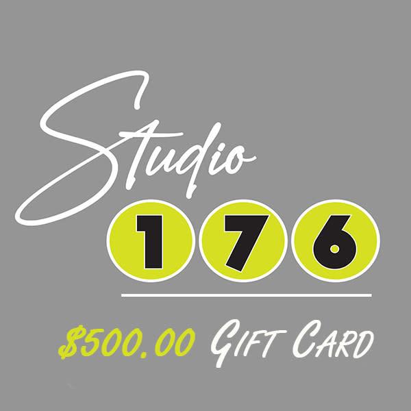 Studio 176 500 Gift Cards
