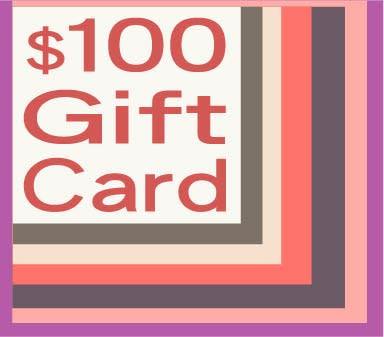 100 gift card