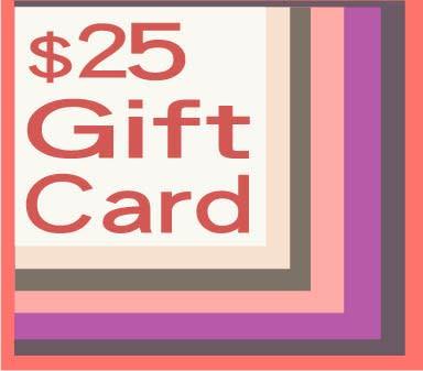 25 gift card
