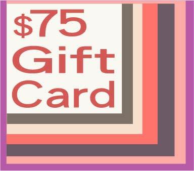 75 gift card
