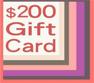 200 gift card