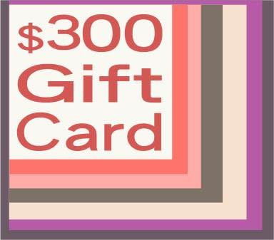 300 gift card