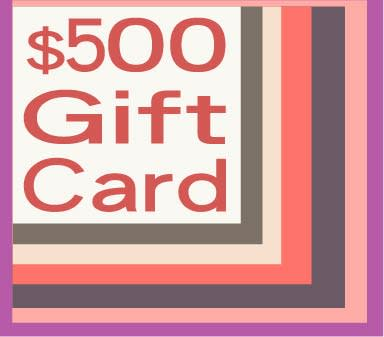 500 gift card