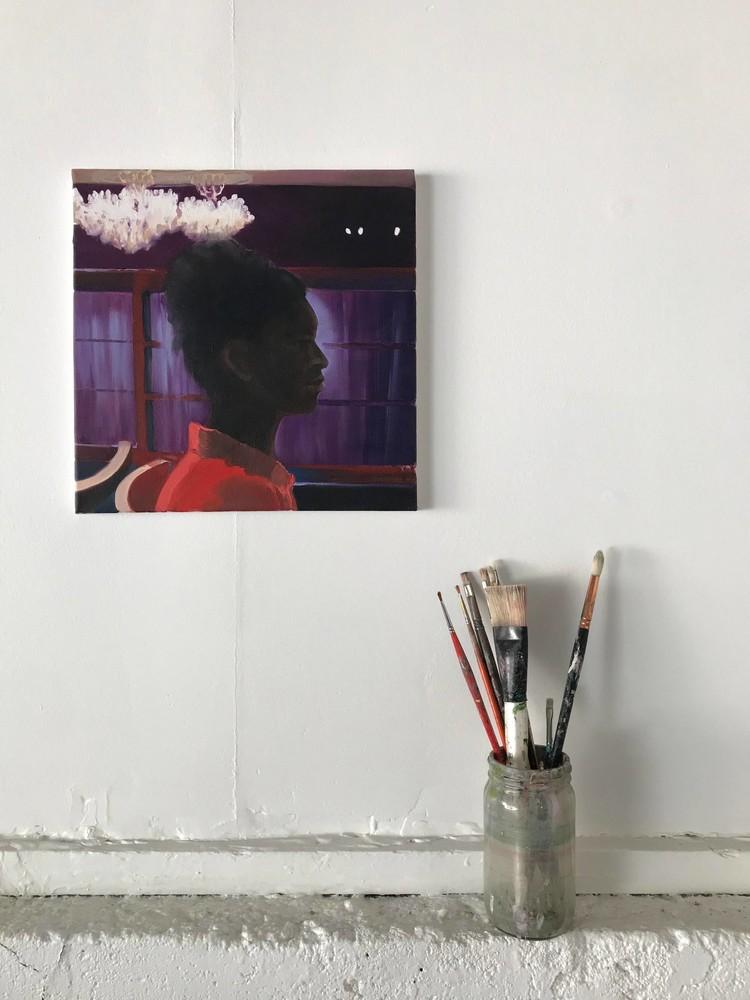 El Rey - in my studio