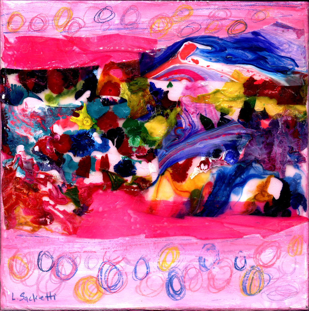Abstract in pink 2 1