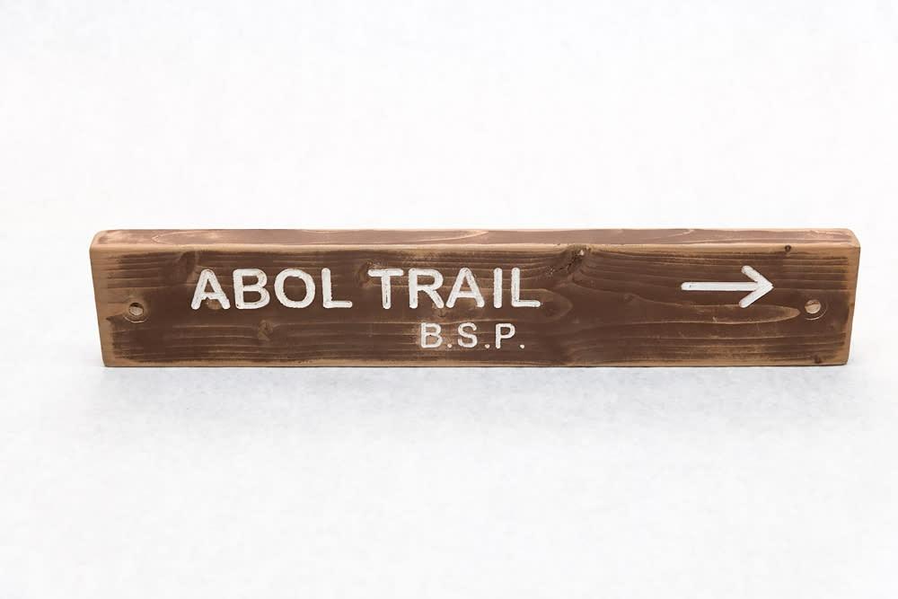 Abol Trail Baxter State Park Trail Sign