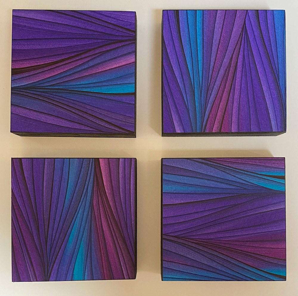 Purple 4 squares