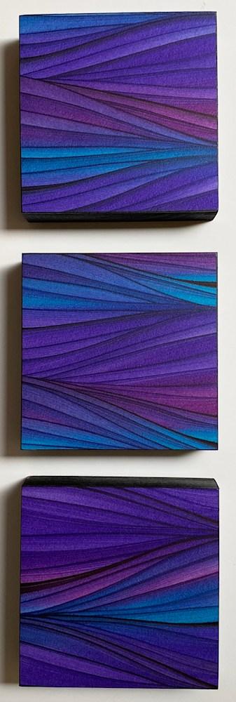 Purple 3 squares