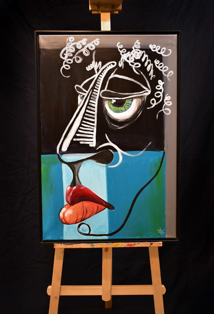 Gerald on easel opt