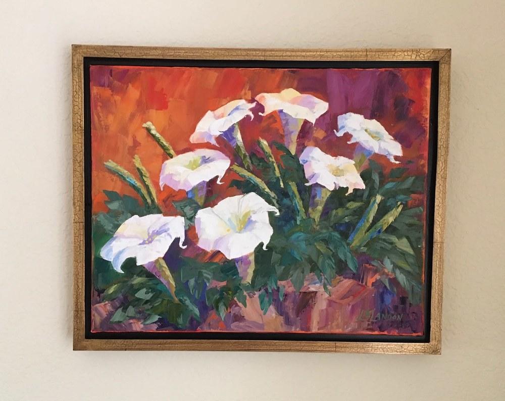 Datura framed