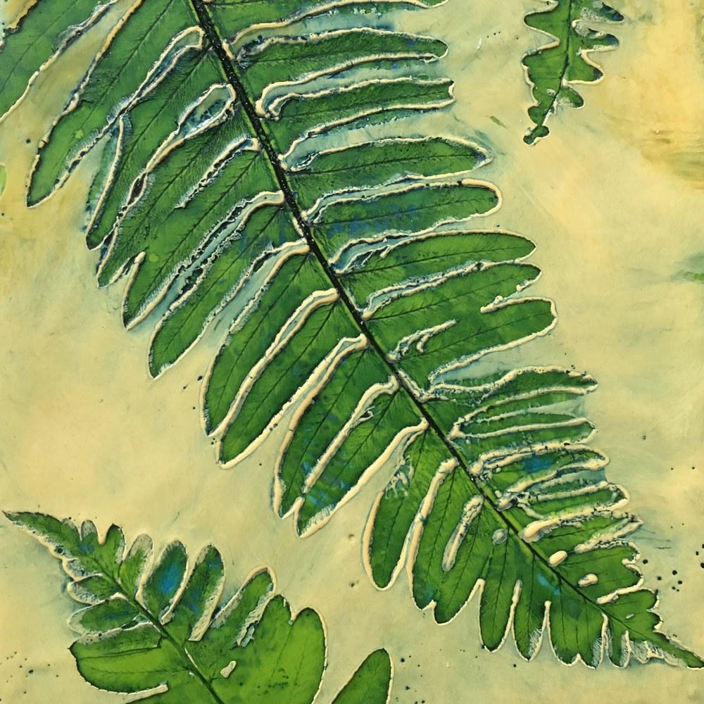 BridgetBenton ferns 6x24 detail