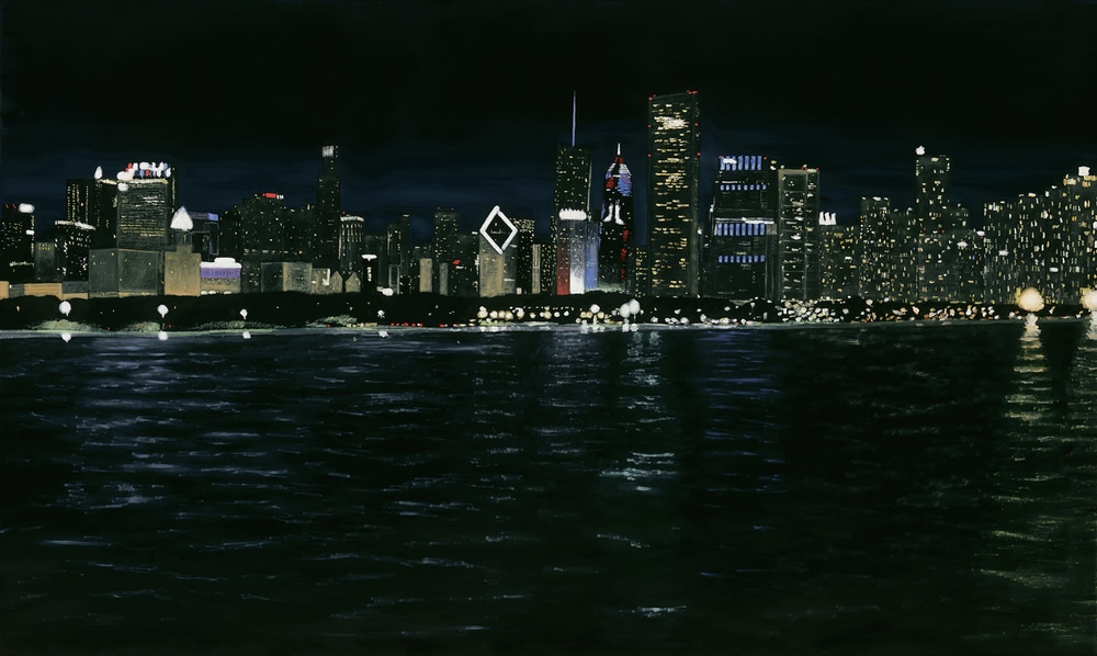 Chicago Skyline at Night 2020 WEB