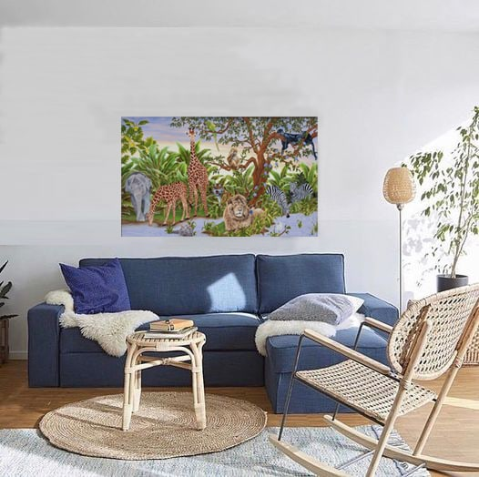 LittlePrince ROOM  blue sova and chair