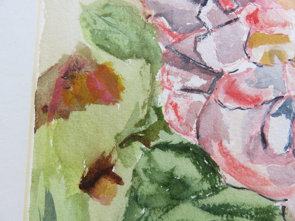 Flaming roses detail II