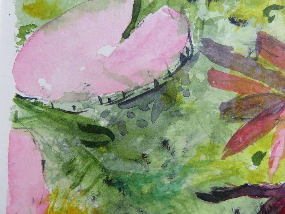 waterlily I  detail II