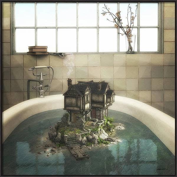 bathframed