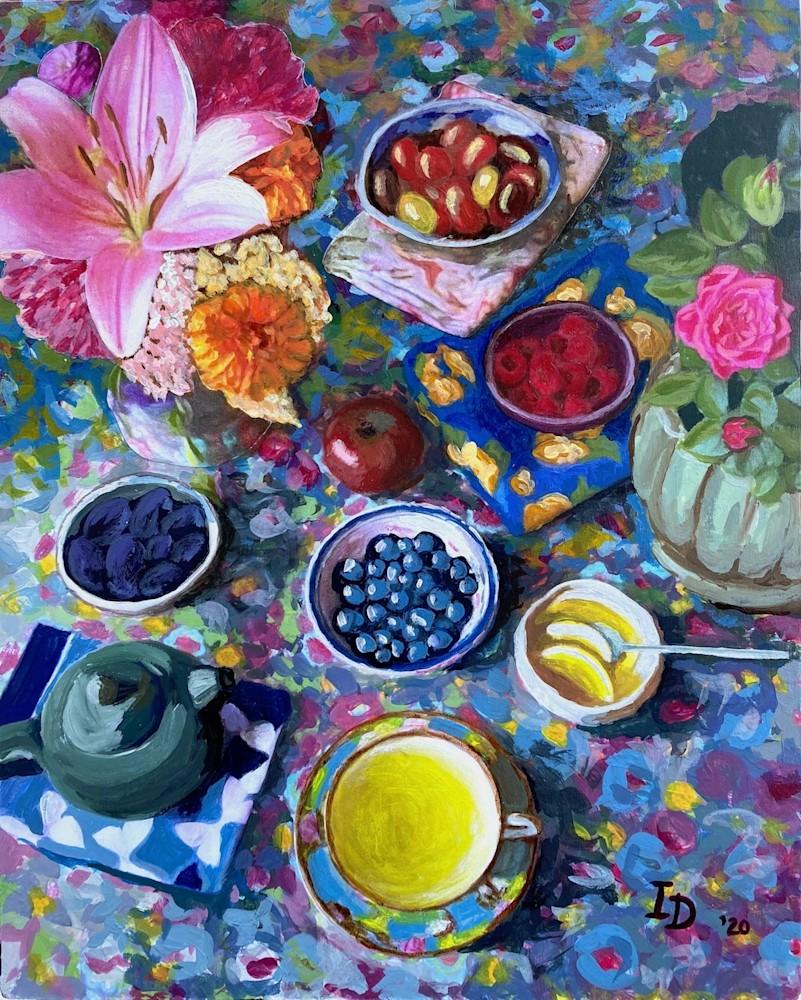 Inna Dzhanibekova 04 Still Life with Tea res