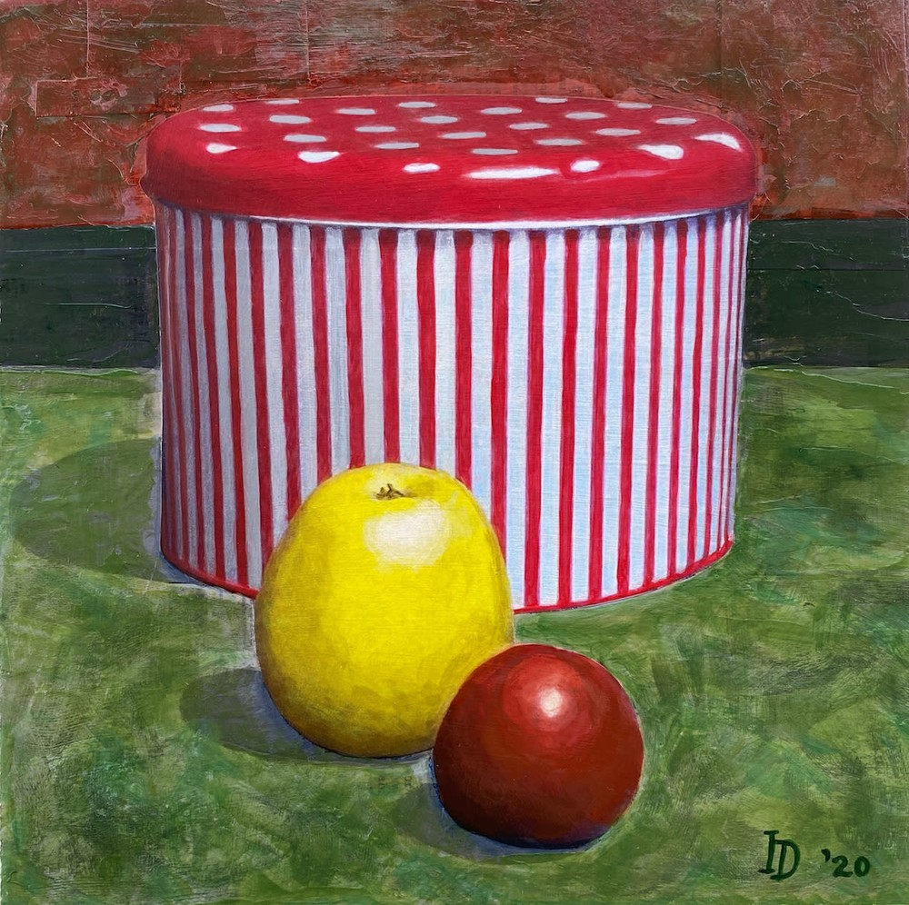 Inna Dzhanibekova 10 Still Life with Striped Cookie Jar res