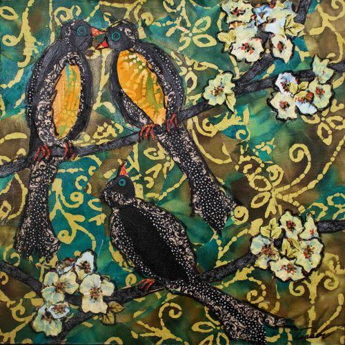 Love Birds ASF Unframed R