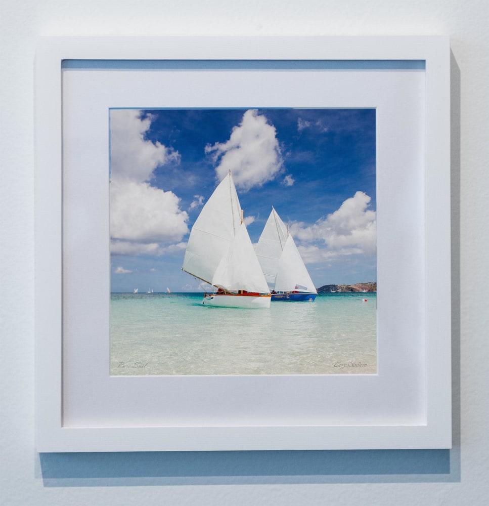 Pure Sail Grenada Workboat